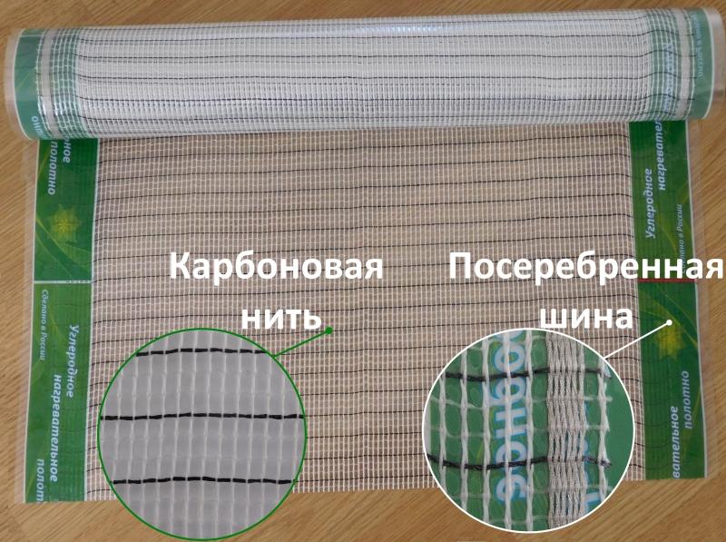 Электрический сеточный тплый пол
